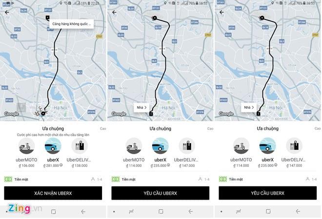 Cuộc chiến cước sân bay của taxi truyền thống và Uber, Grab ở Hà Nội - hinh 3
