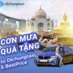Tưng bừng cơn mưa quà tặng Sinh nhật từ Dichungtaxi và Bestptrice