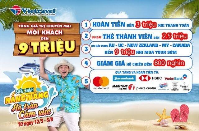 Khuyến mãi khách sạn từ Viettravel