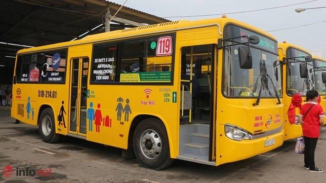 Tuyến xe buýt tại sân bay Tân Sơn Nhất